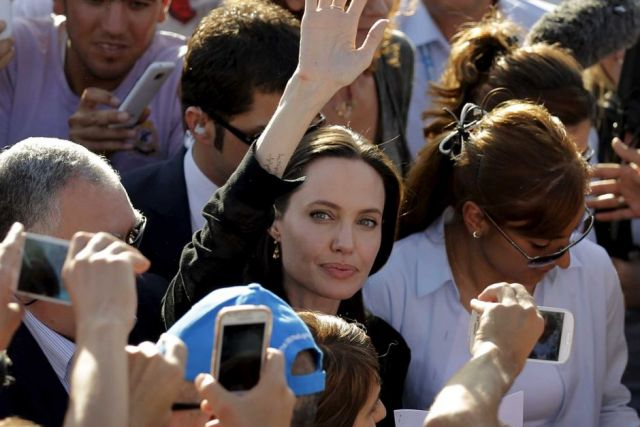 Angelina Jolie Pleads Global Action on Syria