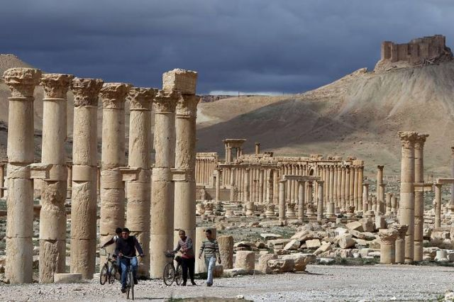 ISIS Savages Begin Destroying Ancient Palmyra