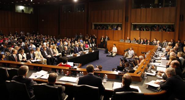 Senate Panel Denounces Assad Crimes Against Humanity