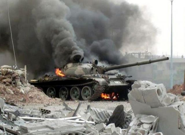 Syrian Rebels Capture a Major Army Base in Daraa