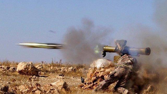 Big Rebel Attack Advance on Alawite Region