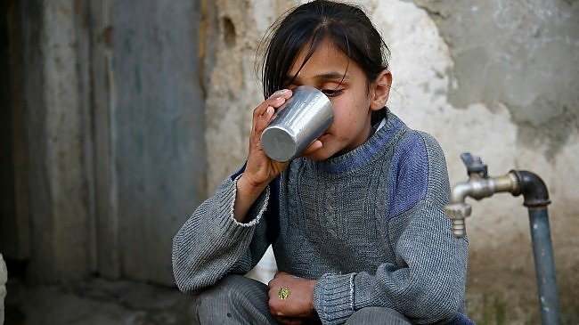 Water Scarcity Places Millions of Syrian Children at Risk
