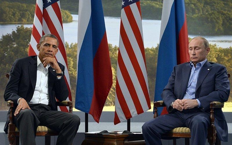Vladimir Obama and Barack Putin