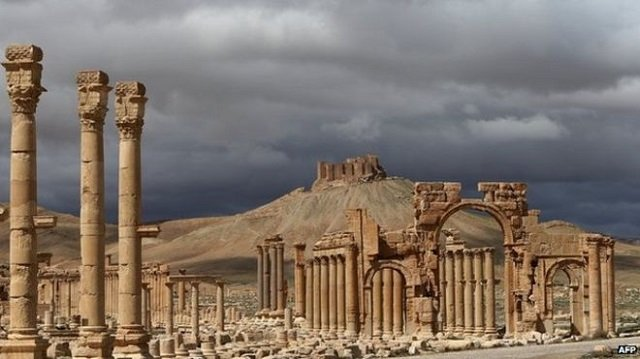 Fanatic Muslim Bastards Blow Up Syrian Treasure