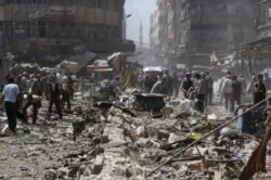 HRW urges Syria arms embargo after deadly regime strikes