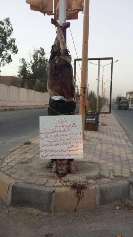 ISIS beheads elderly antiquities scholar in Palmyra