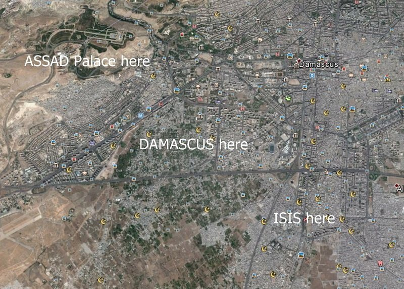 ISIS edges towards the heart of Damascus