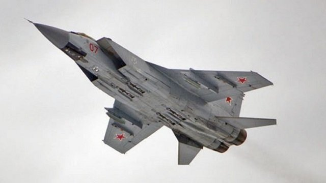 Syria reportedly receives MiG-31 interceptors from Russia