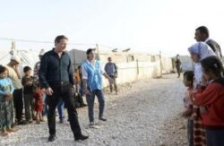 Cameron Visits Syrian Refugees in Lebanon