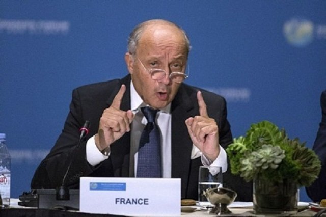 Fabius Teaching Kerry a Lesson in Tough Diplomacy