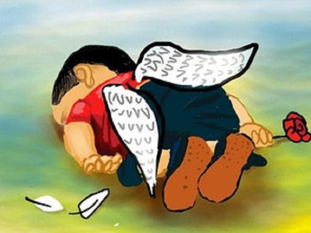 Father Buries Drowned Syrian Boy as Europe Wrangles over Refugees