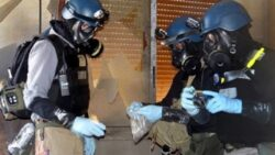 Syrian Activists Ask the U.N. to Return Sarin Gas to Assad