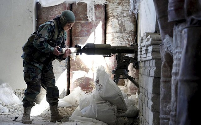 600 Female pro-Assad Fighters Operated On