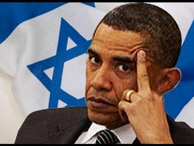 Barack Obama is Happiest When Jews Suffer