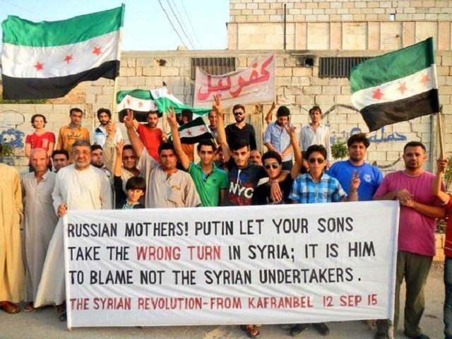 How Putin United The Moderate Rebels in Syria