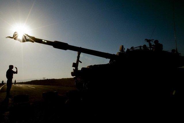 Israel Strikes Syrian Army Posts