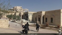 Jihadists in Syria train for urban warfare
