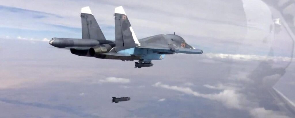 Russia Continues to Strike the Moderate Opposition, Not ISIS