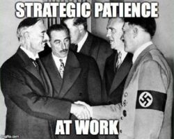 Strategic Patience Nonsense Working For You Mr. President?