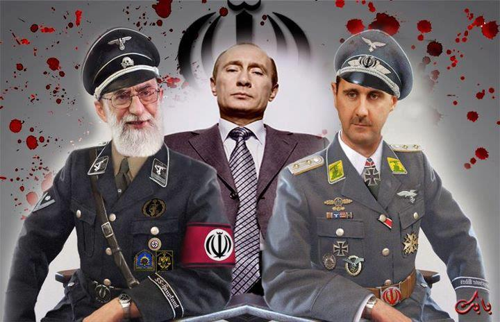 The New Axis of Evil at War in Syria