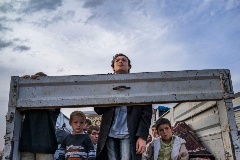 Turkey: 400,000 Syrian Children Not in School