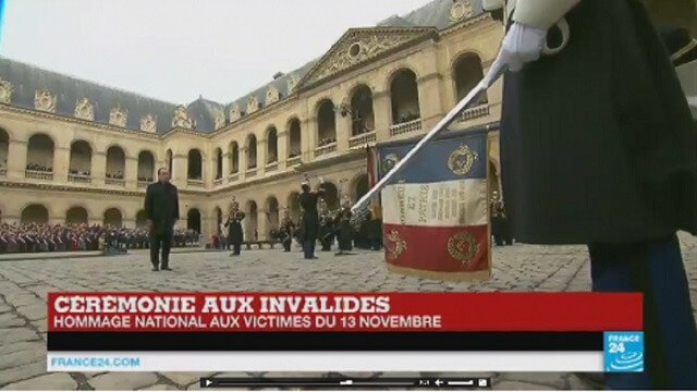 Hollande Vows to Crush 'Army of Fanatics'