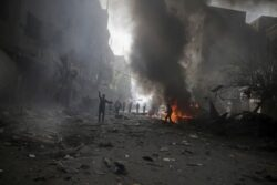 Obama Says Assad Must Go to End Syria Civil War