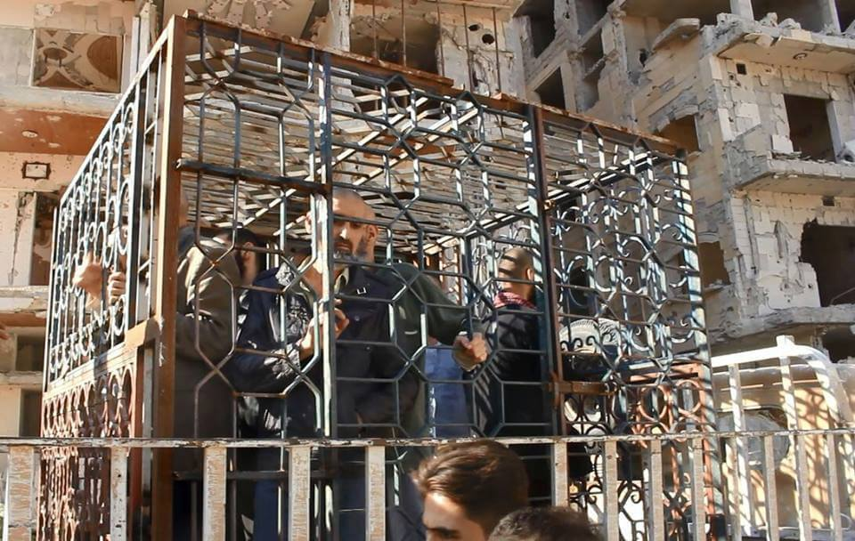 Rights Group Condemns Syria Rebels for 'Human Shields'