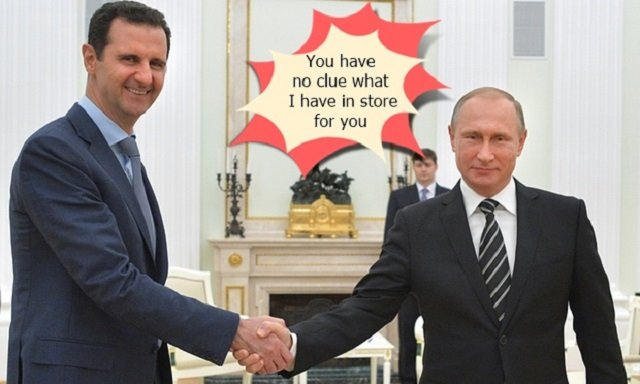Putin's High Stakes Diabolical Extortion Against Assad