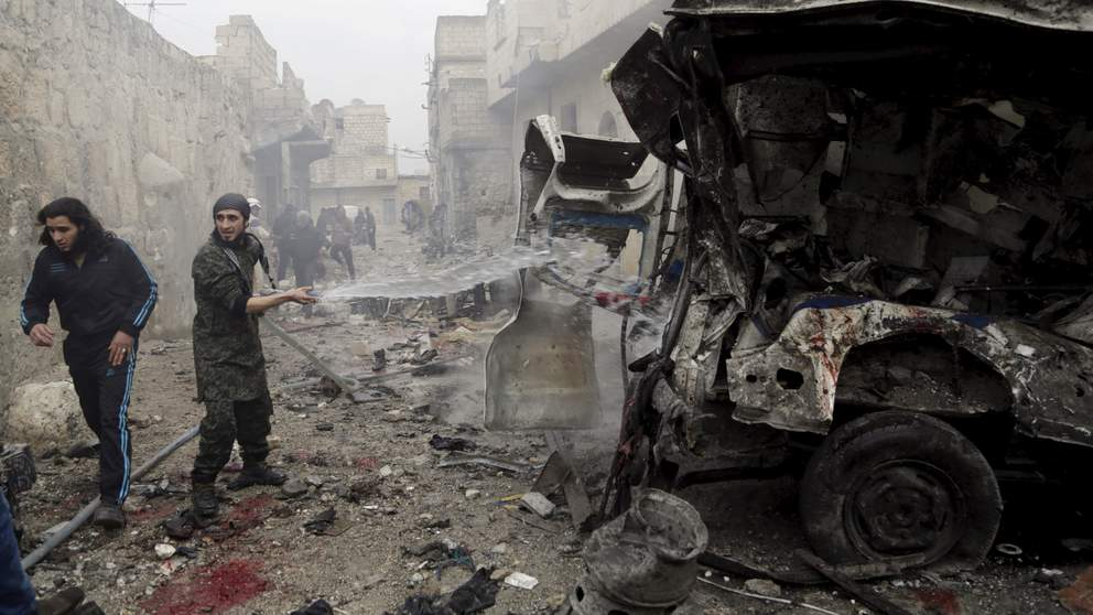 Russia Blamed For 1400 Syrian Civilian Deaths