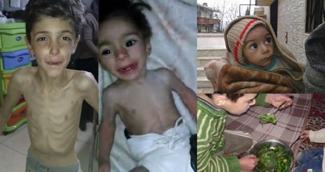 Starvation Spreads Before Syria Peace Talks