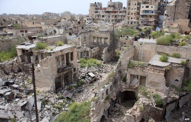 Death Toll Around Aleppo Since February 1