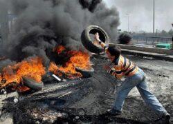 Hezbollah Thugs Protest Satirizing Their Leader