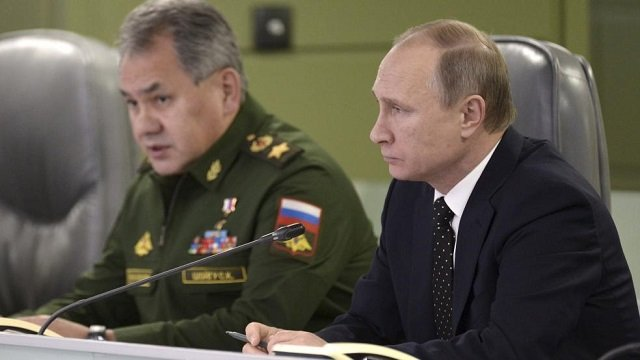 Putin Faces Military Cuts Even as He Fights in Syria and Ukraine