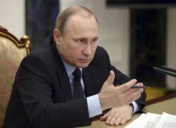 Putin Throws Western Powers a Banana Peel