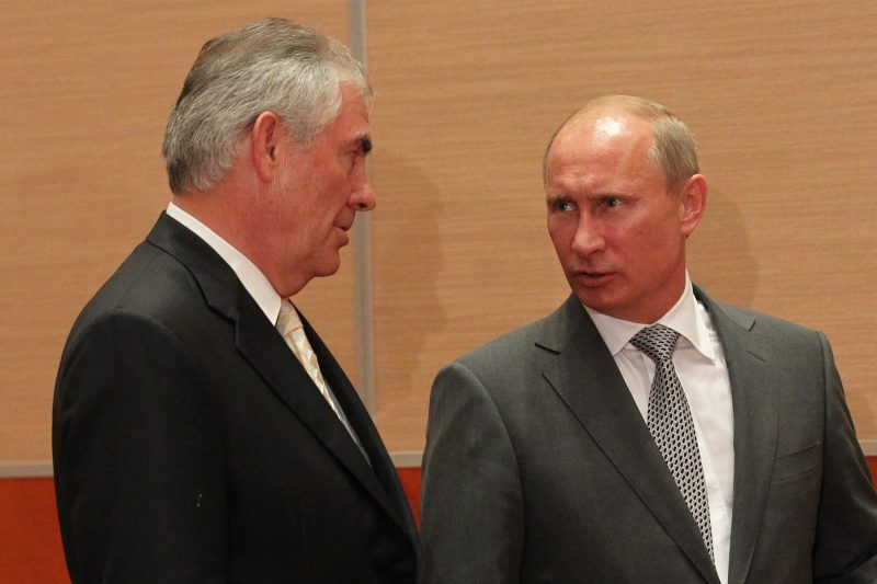 Falafel Records Historic Meeting Between Tillerson and Putin