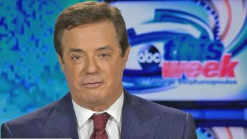 Falafel interviews Manafort on his way to the FBI.