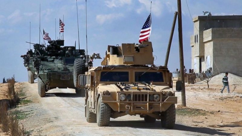Pentagon Says It's Staying In Syria, Even Though ISIS Appears Defeated