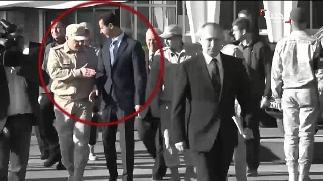 Falafel Saw the Real Syrian President