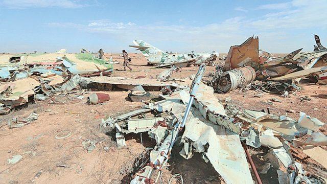 Destroy Assad Air Force for using chemicals against civilians