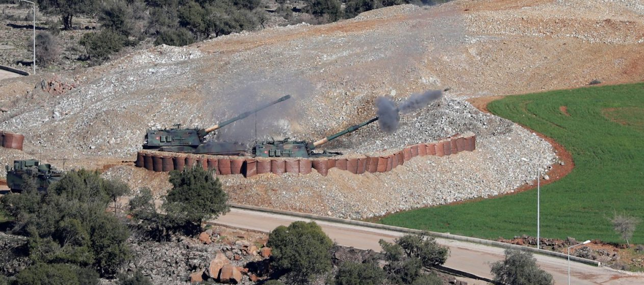 Turkey Begins Assault on Kurdish Forces inside Syria