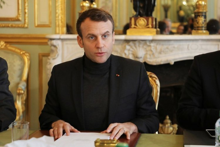 Falafel Interviews French President Macron About His Red Line