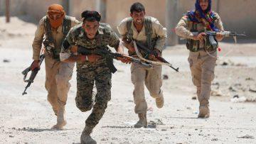 Kurdish Carving For Assad Massacring