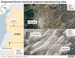 US Strikes Assad Forces, Israel His Factories