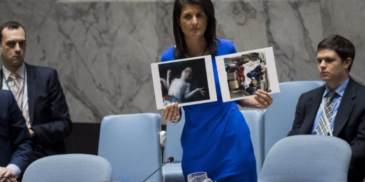 America Enters Warning Stage Against Assad. It's Like Window Shopping.