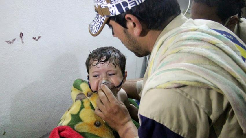 Assad Chlorine Gas Attack Mocks Donald Trump
