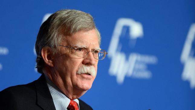 Bolton Expected Syrian Strategy is Tied to Dismantling Iranian Regime