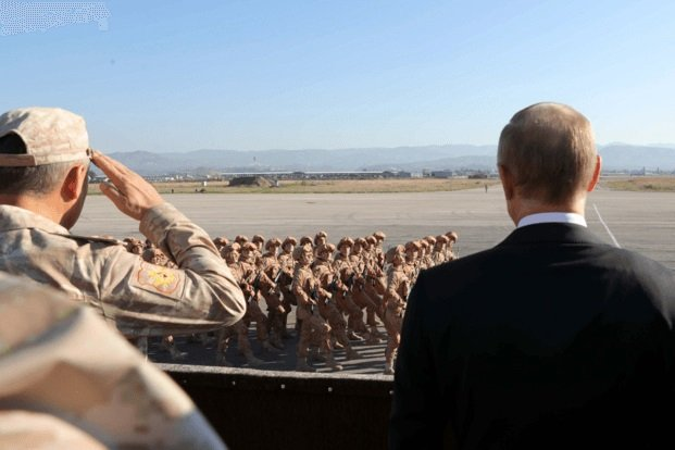 Putin Syrian Lesson Sets the Tone for U.S. Presence