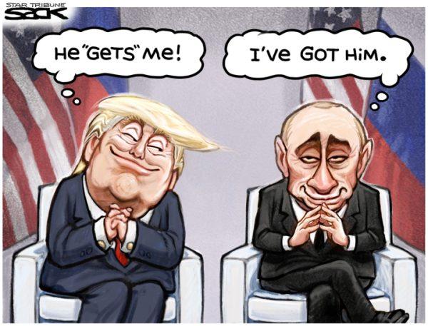 Trump Putin Future Meeting to Skripal Mueller