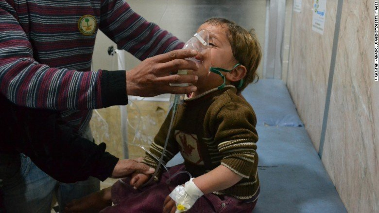Will Trump let Assad get away with using chemical weapons in Syria?